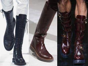 botas largas para hombre