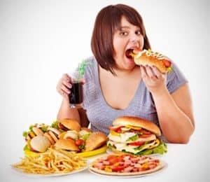 obesidad por comer demasiado