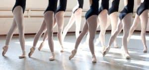 clase de ballet