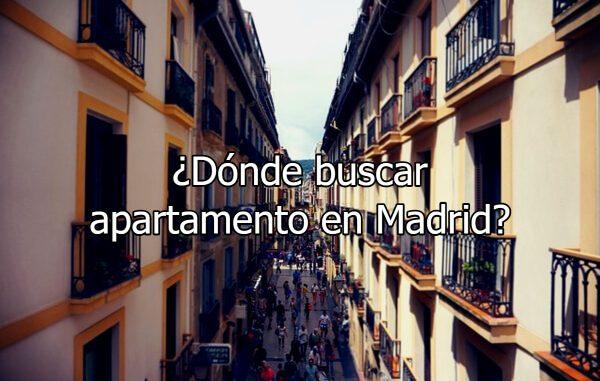 ¿Dónde buscar apartamento en Madrid?