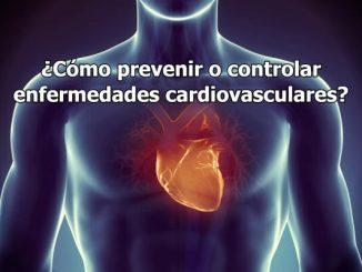 ¿Cómo prevenir o controlar enfermedades cardiovasculares?