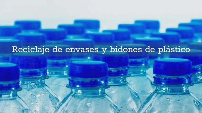 reciclaje envases bidones plastico