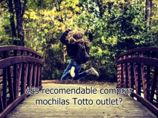 ¿Es recomendable comprar mochilas Totto outlet?