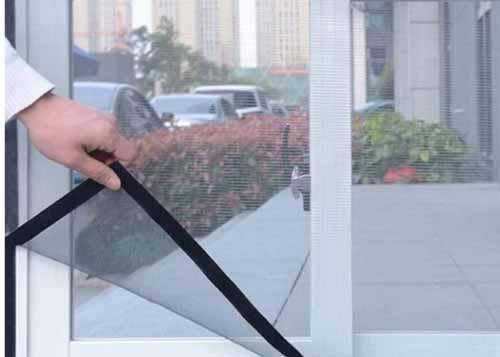 mosquitera para ventana que se quita y pone facilmente