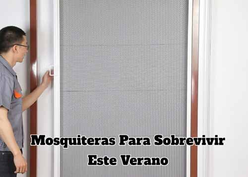 mosquiteras para sobrevivir verano