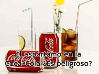 aspartamo en coca cola es peligroso