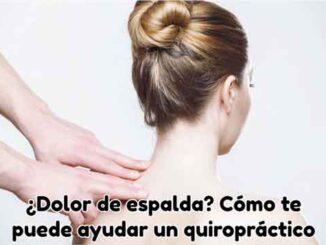 como ayuda quiropractico con dolor de espalda