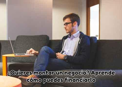 montar un negocio como financiarlo