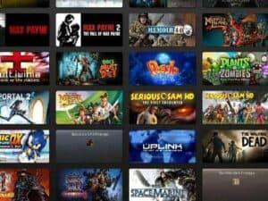 coleccion de videojuegos digitales