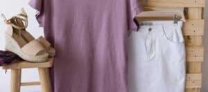 diferentes piezas de ropa para mujeres